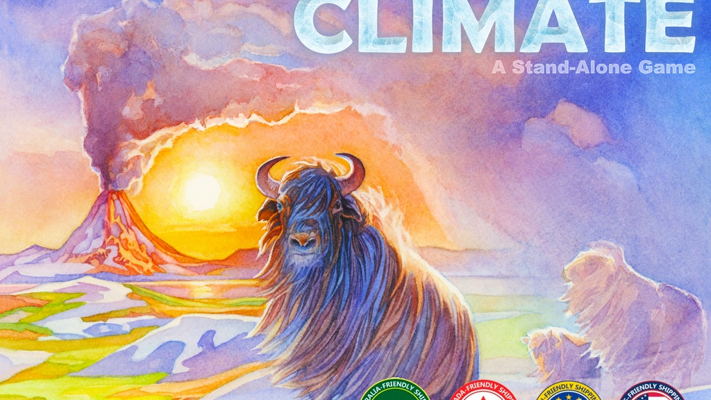 Evolution: CLIMATE (a stand-alone boardgame) project video thumbnail
