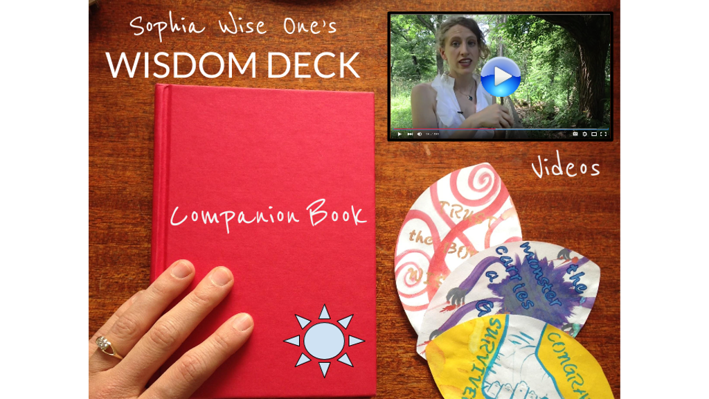 WISDOM ORACLE DECK w/ Companion Book & Instructional Videos project video thumbnail