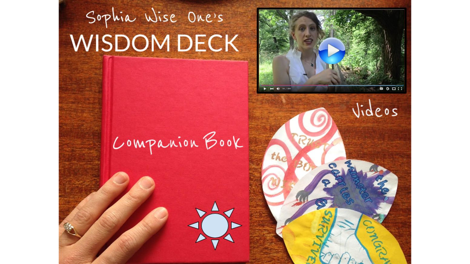 What was the WISDOM ORACLE DECK w/ Companion Book & Instructional Videos 72 card deck, companion book, and instructional videos for dynamic self discovery, transformation, spiritual insight and growth.