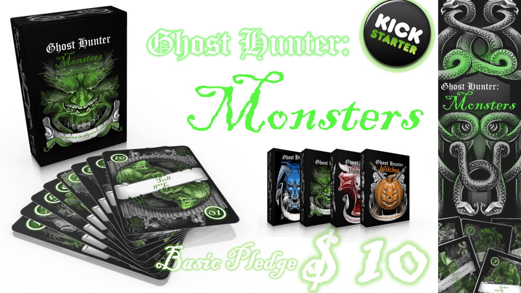 Ghost Hunter: Monsters project video thumbnail