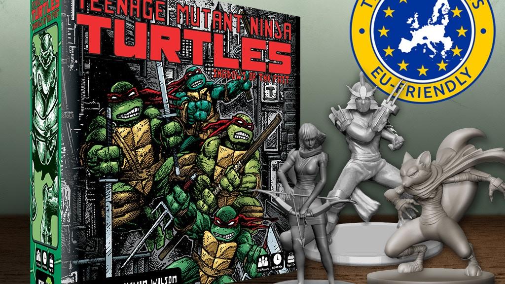 Teenage Mutant Ninja Turtles: Shadows of the Past Board Game project video thumbnail