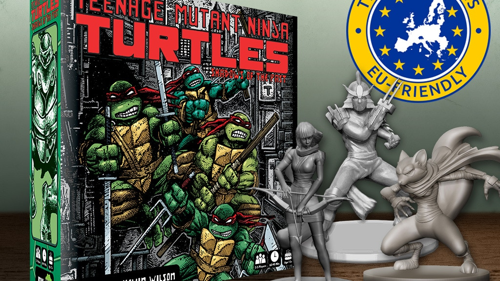 Teenage Mutant Ninja Turtles: Shadows of the Past Board Game project video thumbnail