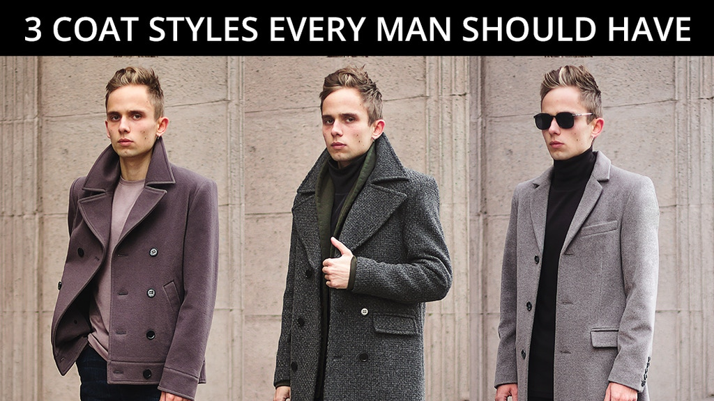 Minimalistic outerwear in soft wools and rich shades project video thumbnail