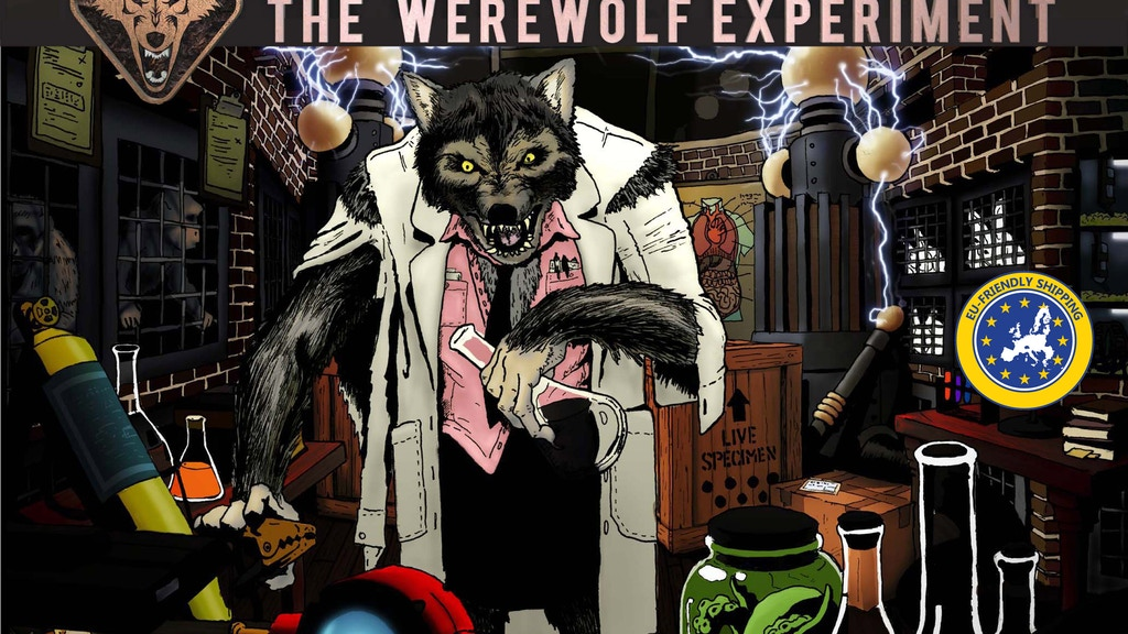 Escape Room In A Box: The Werewolf Experiment project video thumbnail