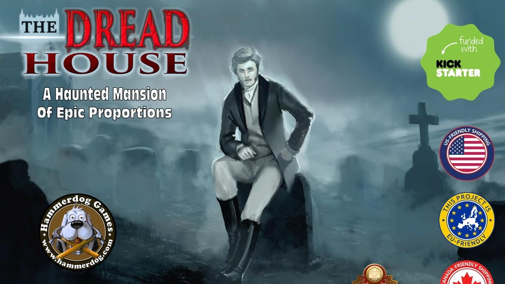 The Dread House (Pathfinder/5th Edition/Call of Cthulhu) project video thumbnail