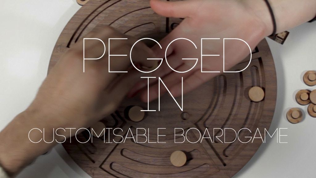 Pegged In | Customisable Board Game project video thumbnail