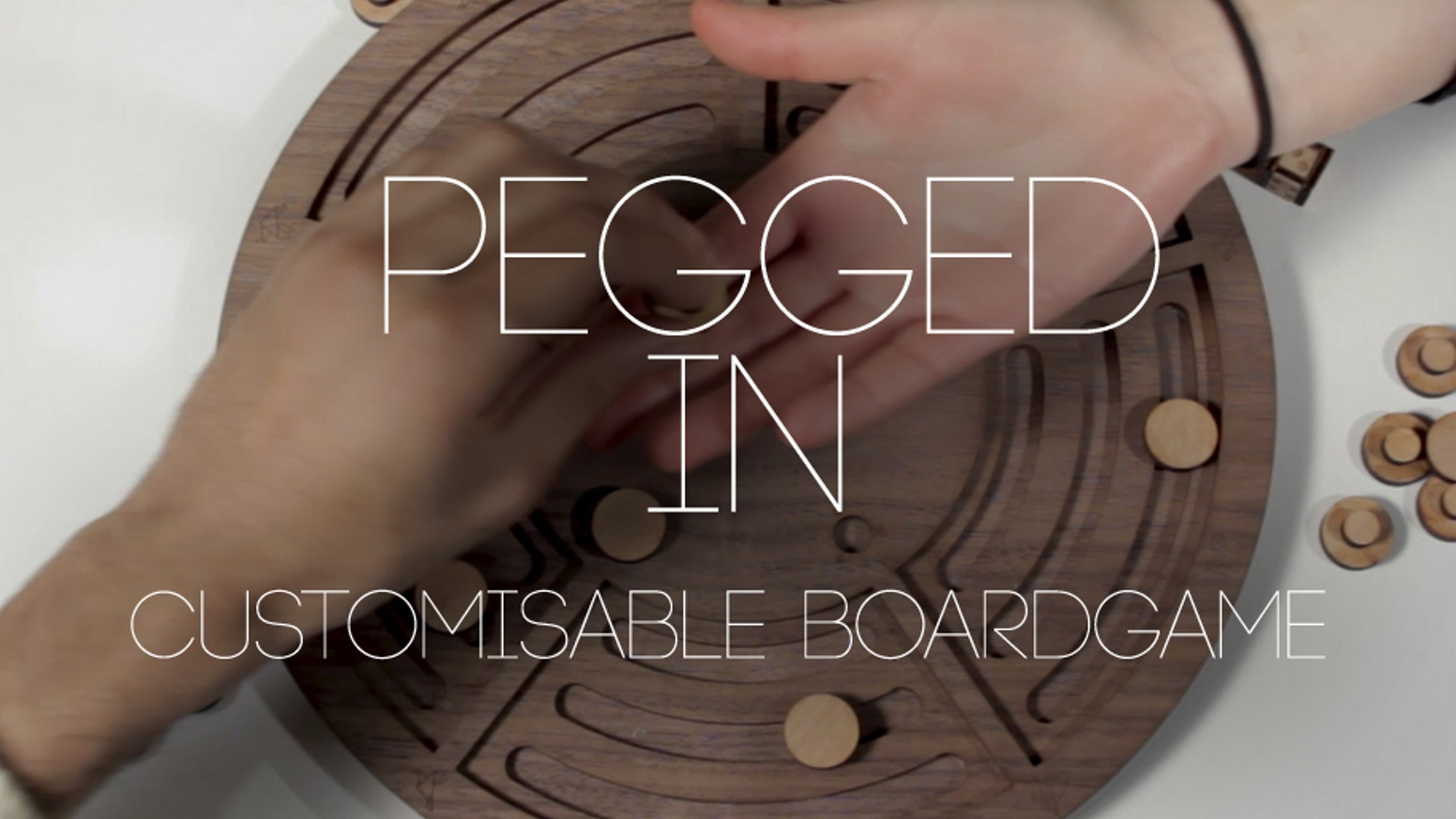 Pegged In is a fun and dynamic customisable board game appropriate for all ages and ideal for both family and friends.