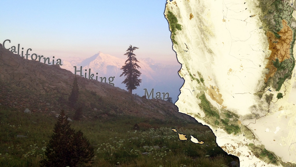 The California Hiking Map project video thumbnail
