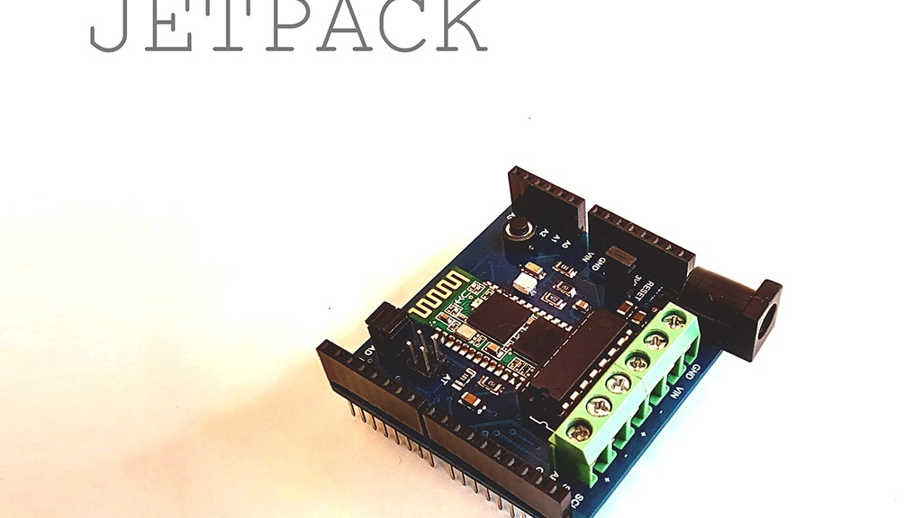 JetPack - Bluetooth Shield for Arduino Robots project video thumbnail