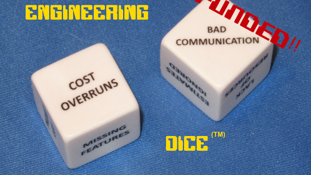 "Engineer's ""Excuse"" Dice project video thumbnail"