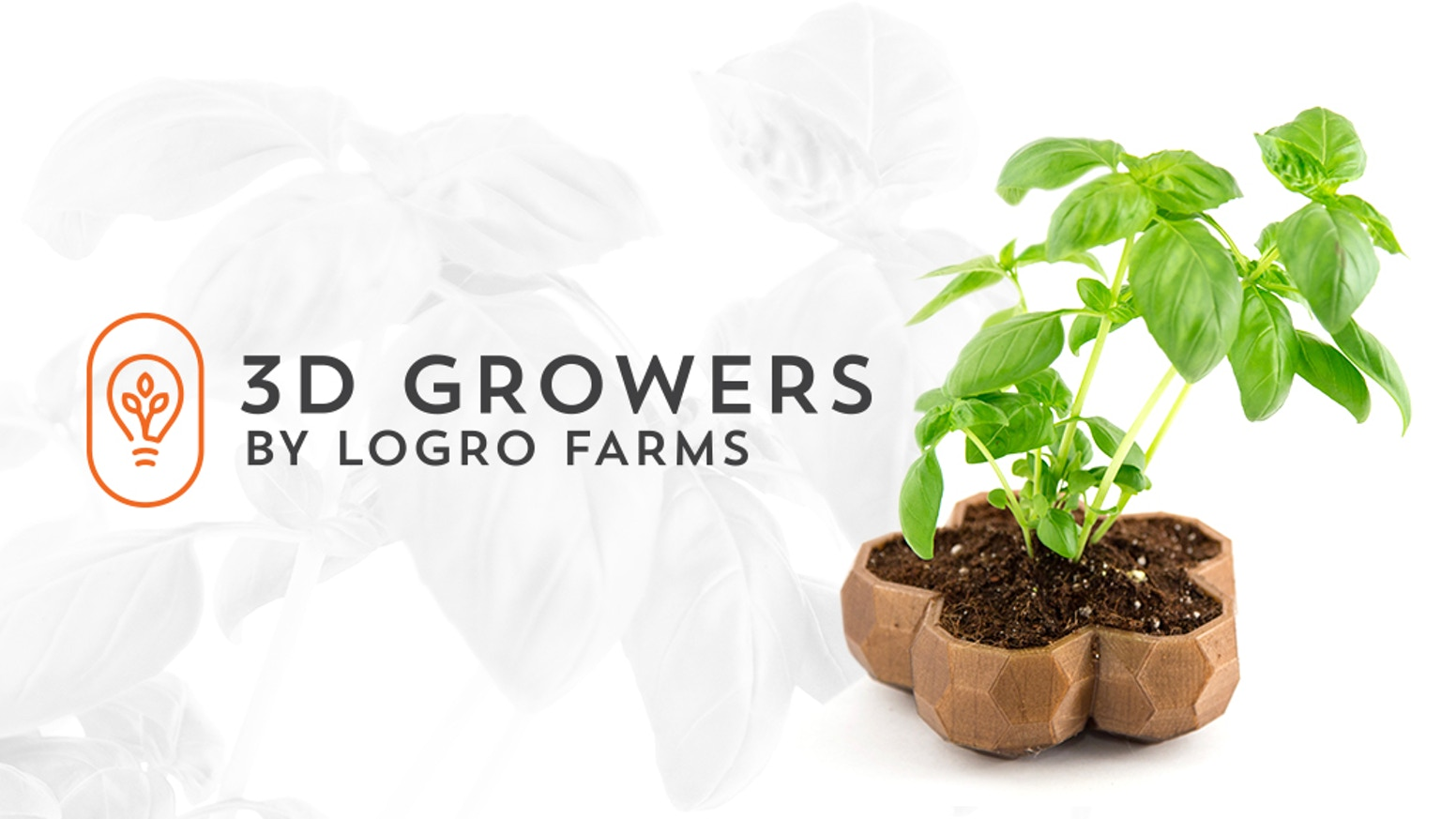 3D Growers | Custom 3D Printed Planters by Logro Farms — Kickstarter