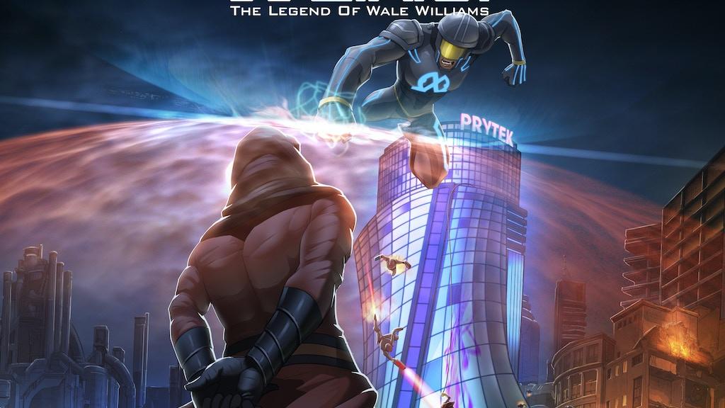 E.X.O. - A Futuristic African Superhero Graphic Novel project video thumbnail