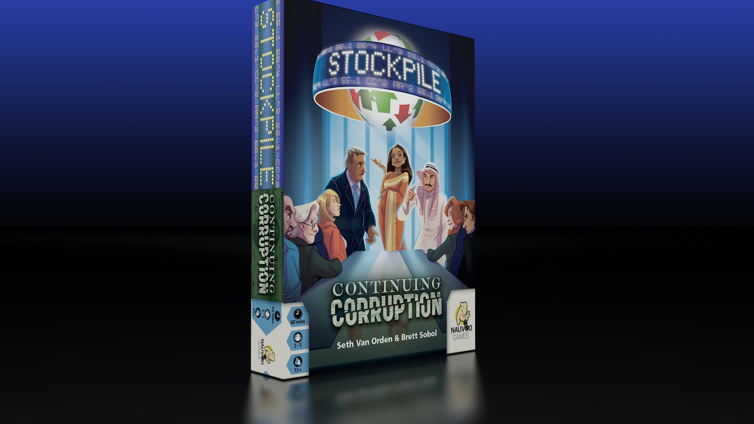 Take on more risk and earn more rewards with the first expansion for Stockpile: The Stockmarket Game of Insider Trading.