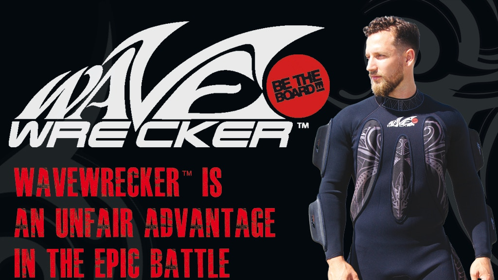 "WaveWrecker - Bodysurfing Technology - ""Be the Board""! project video thumbnail"