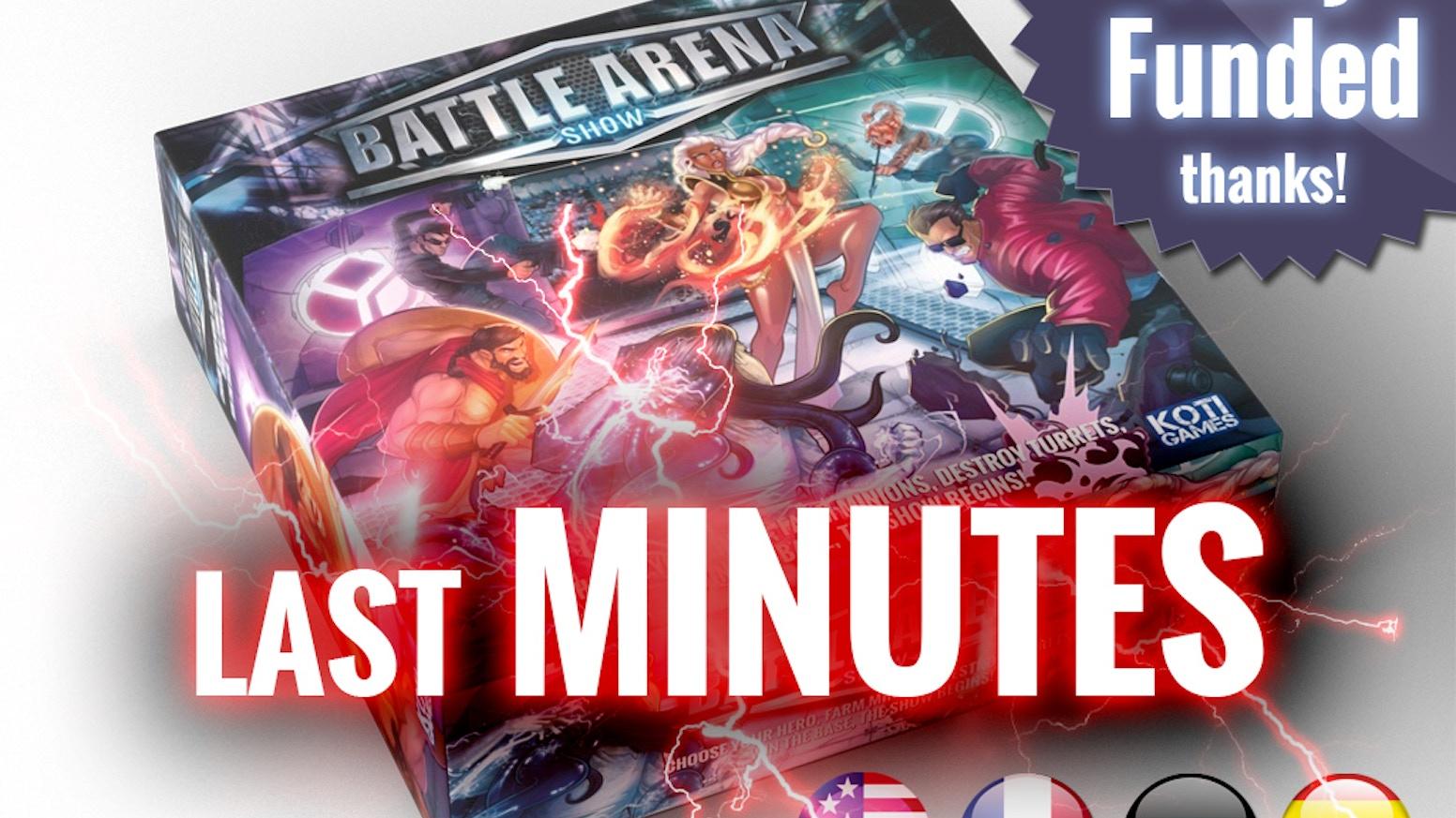 Battle Arena Show Returns By Koti Games Kickstarter Switch Runner 3 Launch Edition Bonus English Us
