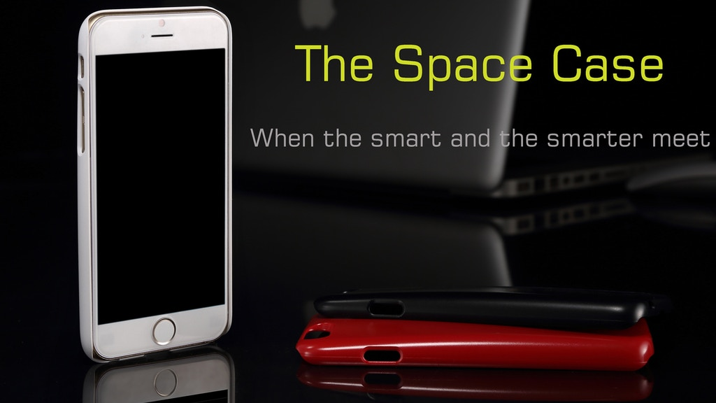 Project image for The space case for iPhone 6 & 6S with flash memory