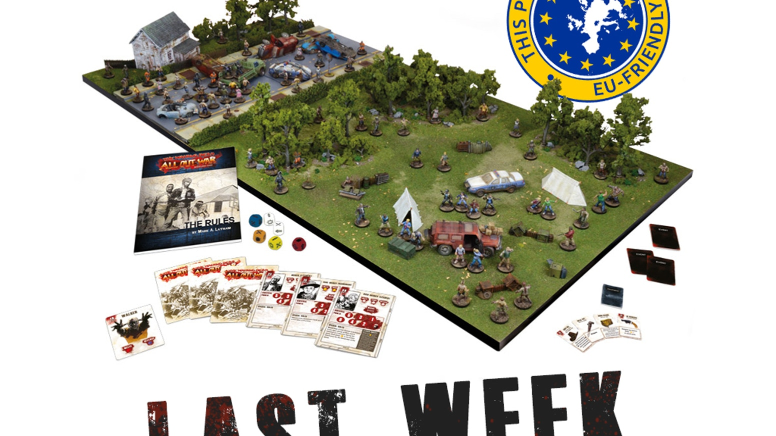Based on the hit comic series The Walking Dead, this is the ultimate survival miniatures game. Will you survive?