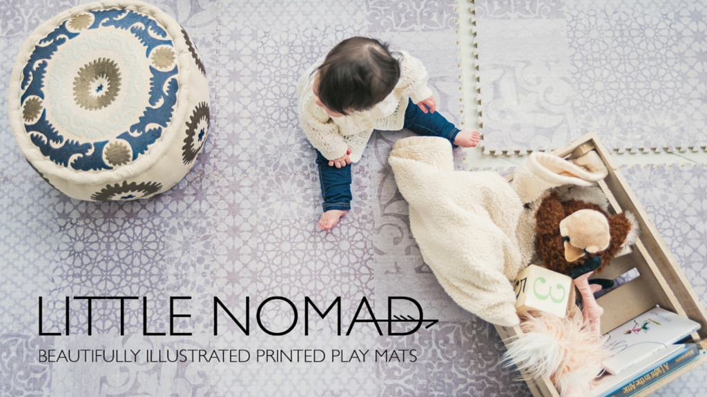 Little Nomad™ Beautifully Illustrated Printed Play Mats project video thumbnail