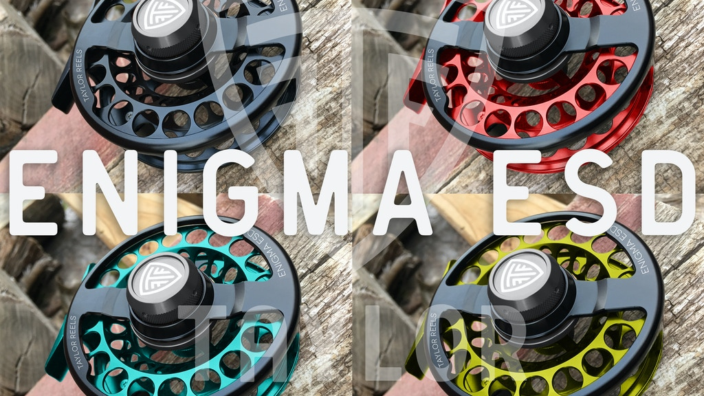 Taylor Fly Fishing Reels: ENIGMA ESD project video thumbnail