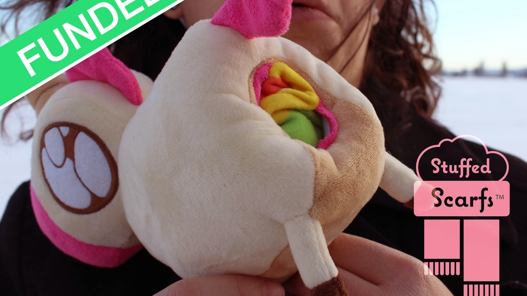 Unicorn Poop & Zombie Entrails Stuffed Scarfs project video thumbnail