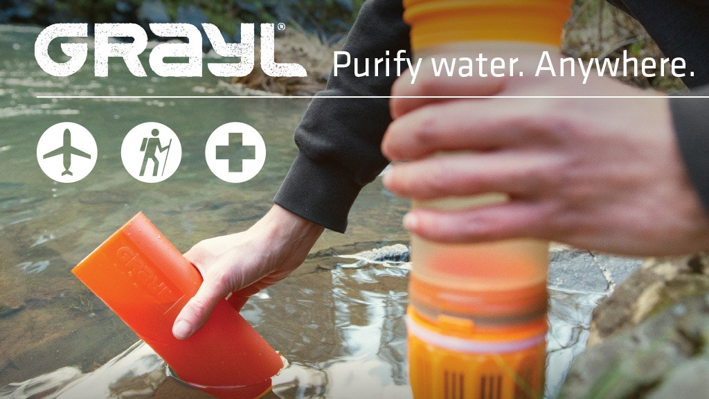 GRAYL Ultralight – World's Best Purifier [+Filter] Bottle project video thumbnail