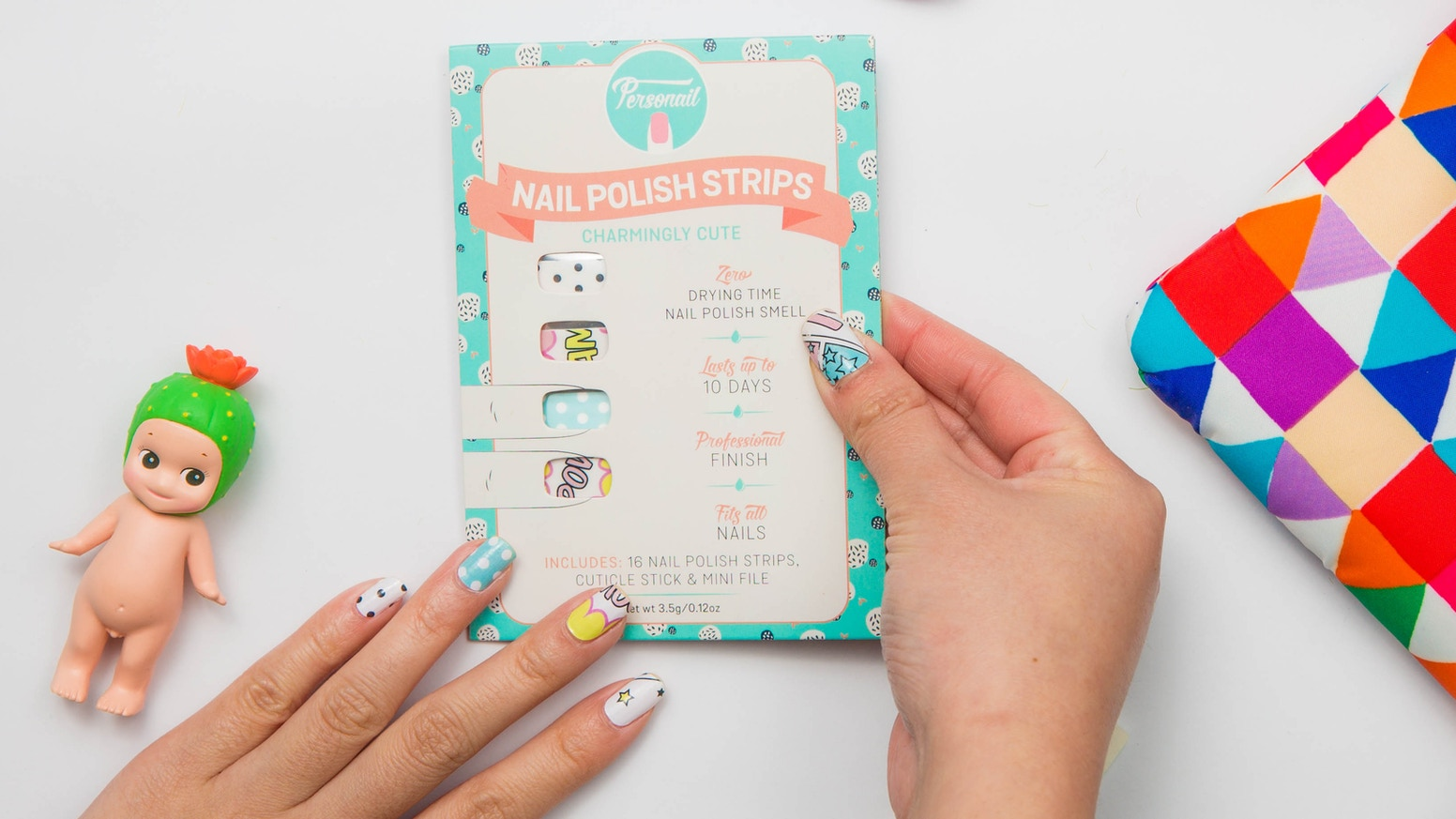 Personail Nail Polish Wraps. Cute nail art in minutes! by Alice ...