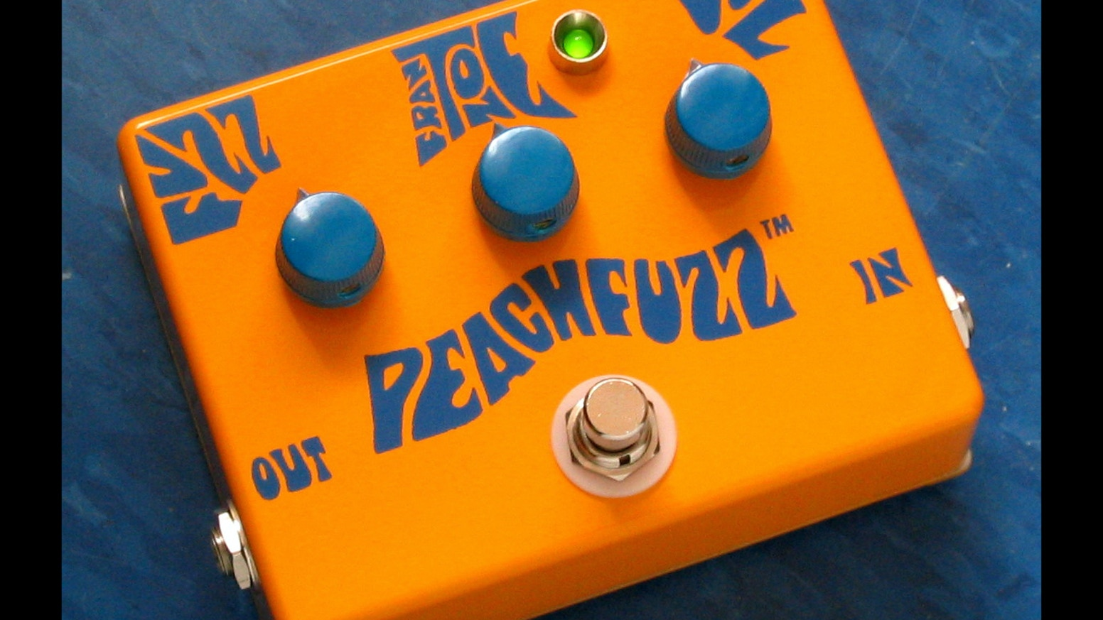 Help restart Frantone by pre-ordering one of the first new Peachfuzz pedals in 6 years!