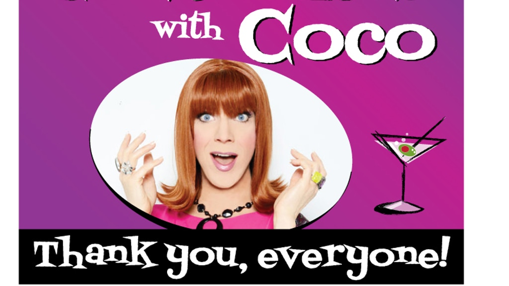 Conversations with Coco: TV pilot starring Miss Coco Peru project video thumbnail