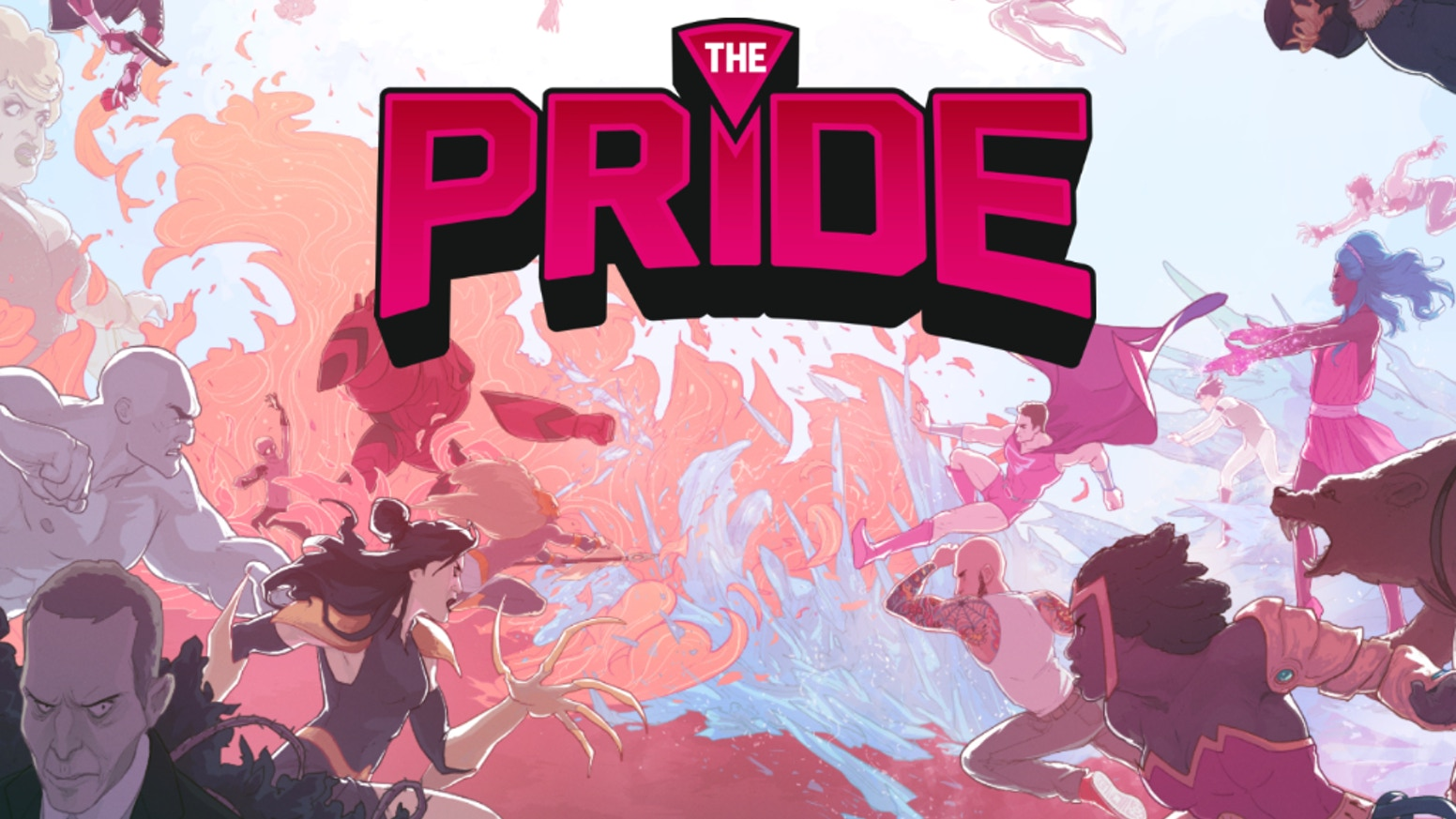 Collecting the entire first volume of The Pride, an LGBTQ superhero team, plus brand new stories,  into a huge, gorgeous hardcover collection.