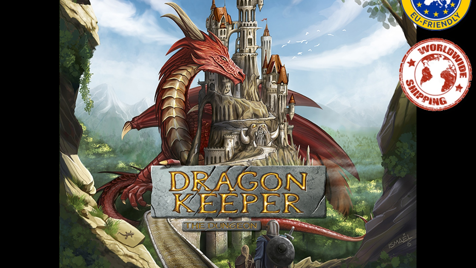 Dragon Keeper - the dungeon by Arnaud Urbon — Kickstarter
