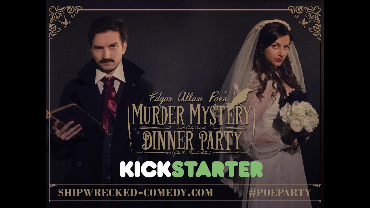 Help writing a parody of a murder mystery?