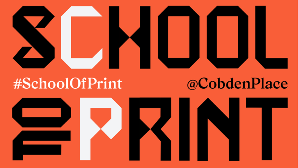#SchoolOfPrint project video thumbnail