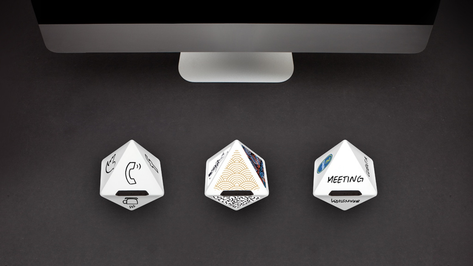 ZEI is a beautiful 8-sided device that makes time tracking instant and fun. Accurately track your activities with a simple flip.