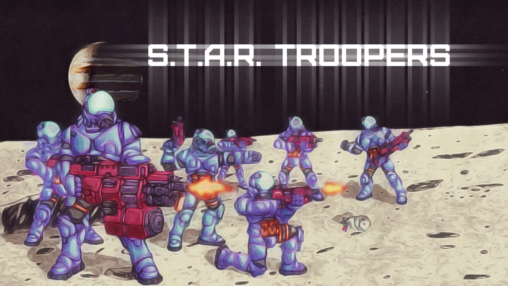 S.T.A.R. Trooper miniatures project video thumbnail