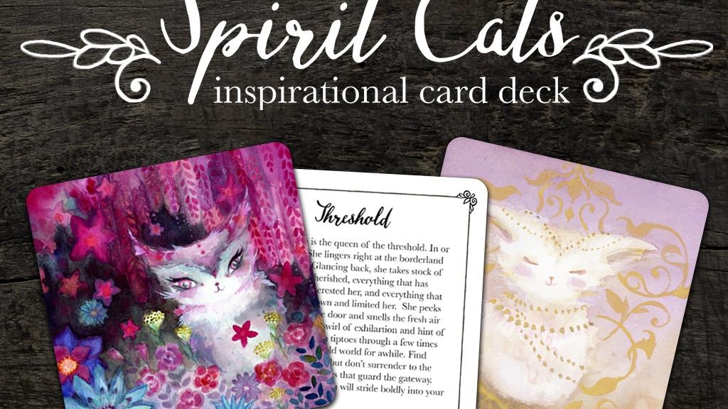 Spirit Cats Inspirational Card Deck project video thumbnail