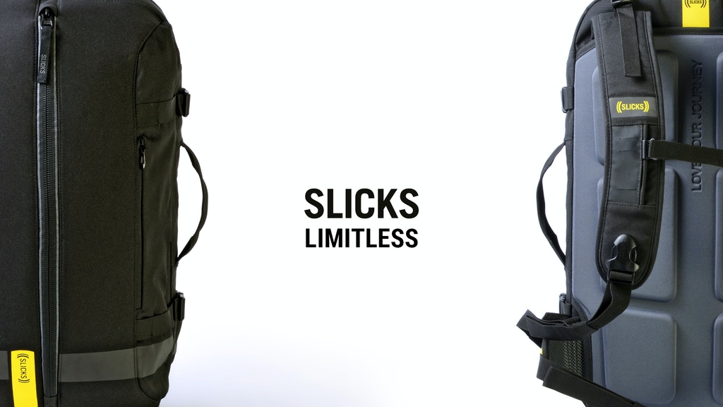Slicks Travel System: One Backpack, Limitless Possibilities. project video thumbnail