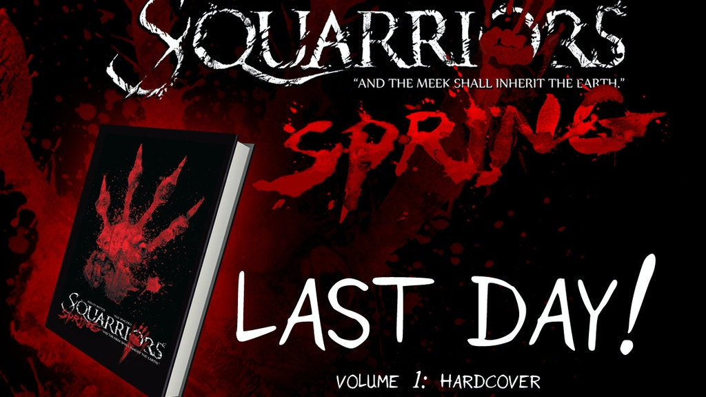 SQUARRIORS: HARDCOVER, VOL. 1 project video thumbnail