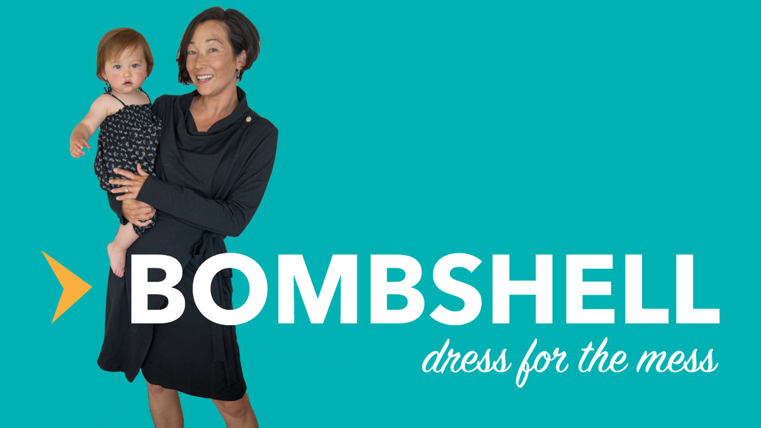 Originally conceived for new moms, the Bombshell is an easy, stylish eco-friendly cover-up for anyone wanting to dress for the mess. AVAILABLE NOW!