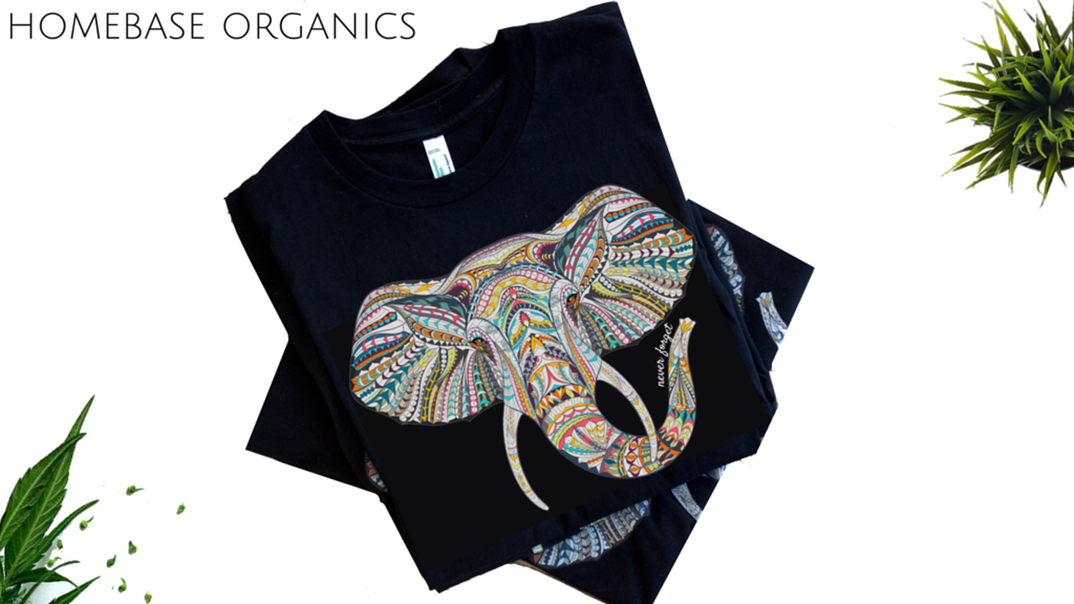 Stylistic illustrations of animals printed on sustainable clothing. Made with a purpose, in the USA.