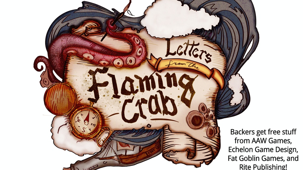 Letters from the Flaming Crab (2016) for the Pathfinder RPG project video thumbnail