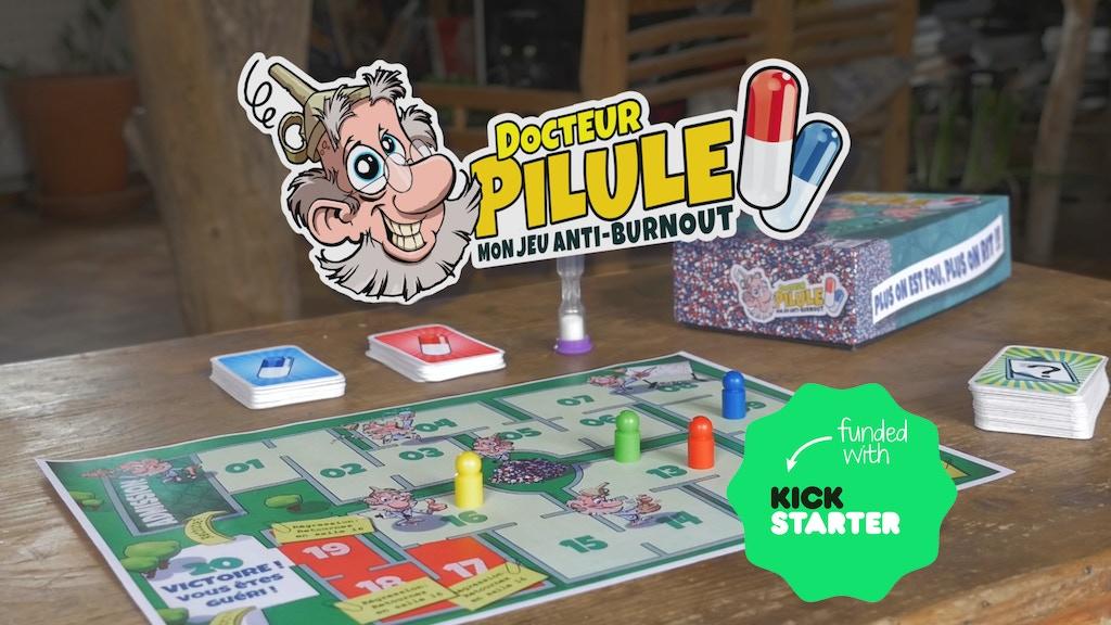 Docteur Pilule : Mon jeu anti-burnout project video thumbnail