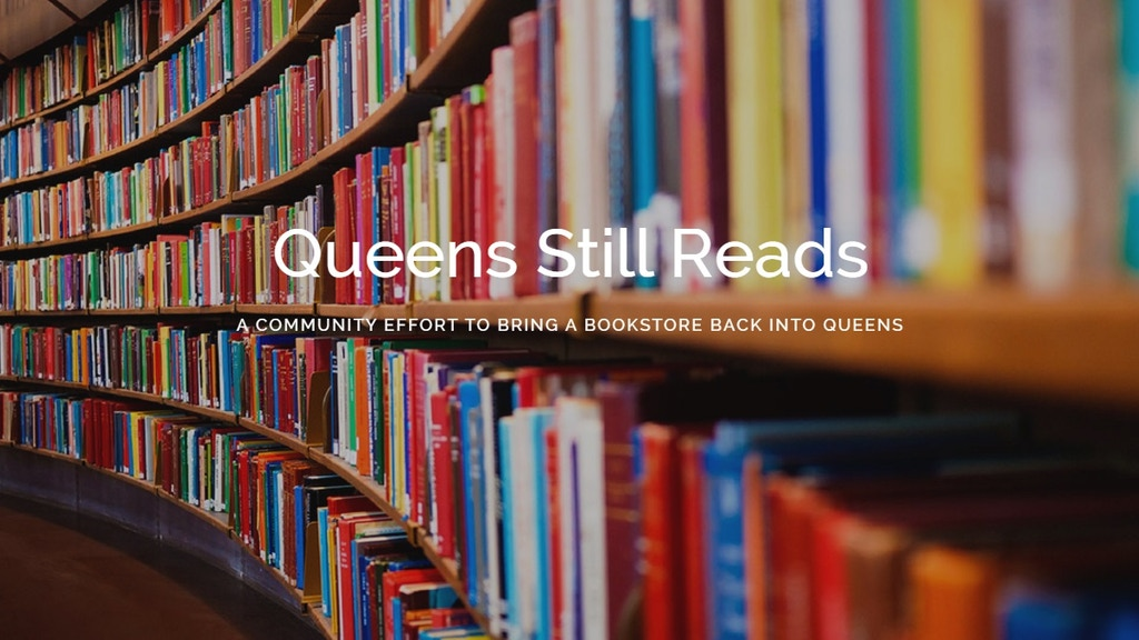 Let's Bring a Bookshop Back to Queens, NY! project video thumbnail