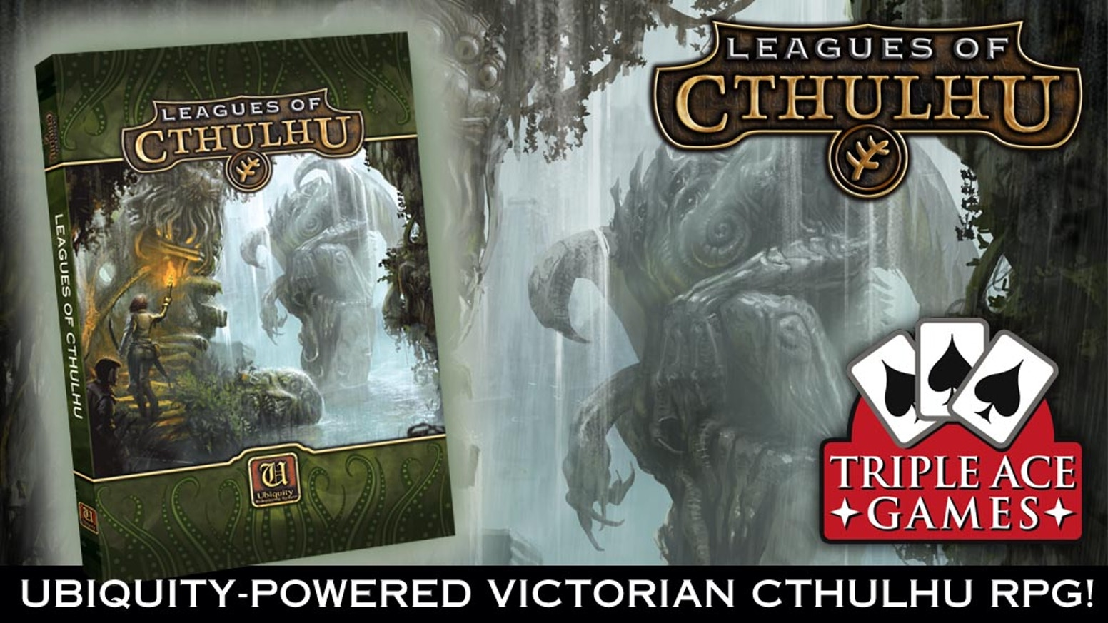 Explore the mind-bending world of Ubiquity-powered Victorian Cthulhu!