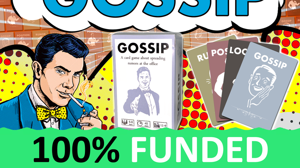 Gossip: A Social Deduction Card Game About Office Gossip project video thumbnail