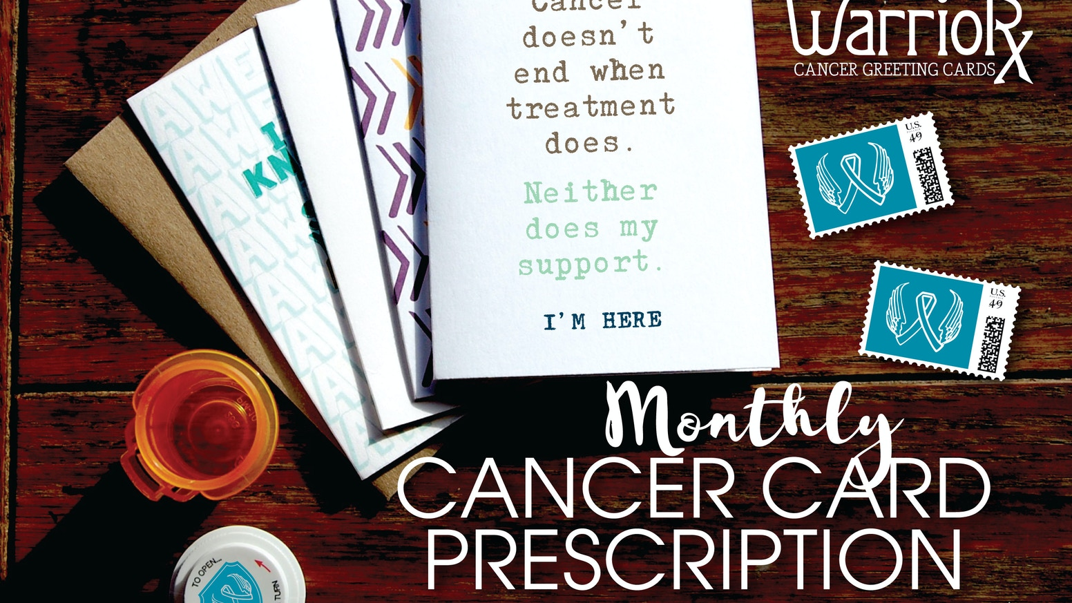 Cancer Greeting Card Subscription Crazy Thoughtful Cards By