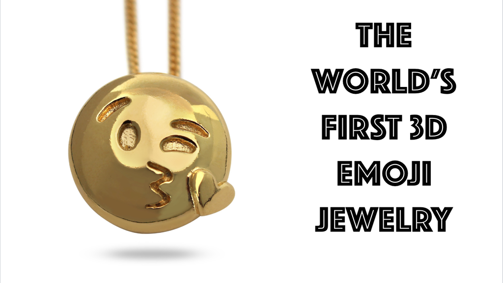 The World's First 3D Emoji Jewelry by Pow HiSo project video thumbnail