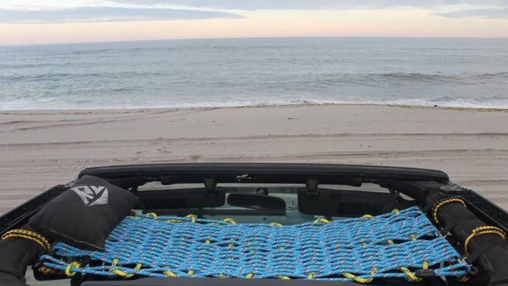 Rooftop Cots: A Hand Woven Cot for your Jeep Wrangler. project video thumbnail