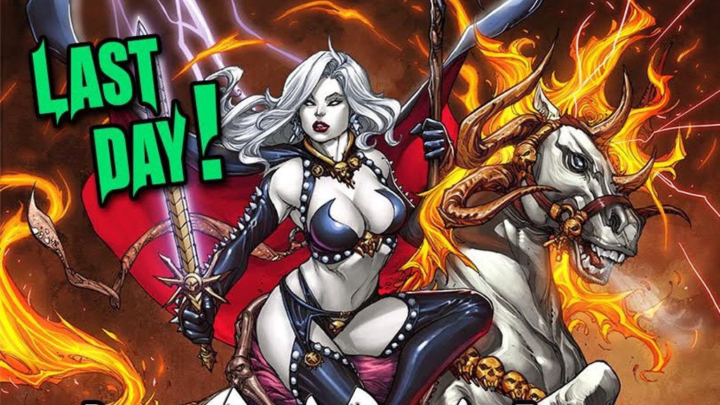 B.PULIDO'S NEW LADY DEATH GRAPHIC NOVEL: EXTINCTION EXPRESS! project video thumbnail