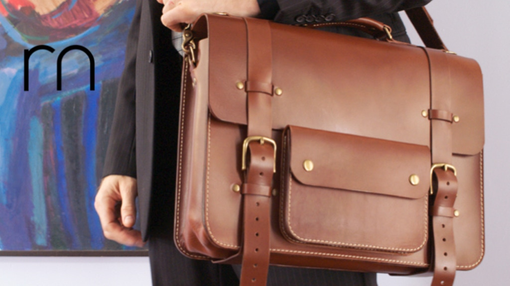 Rugged Leather Goods Built To Last project video thumbnail