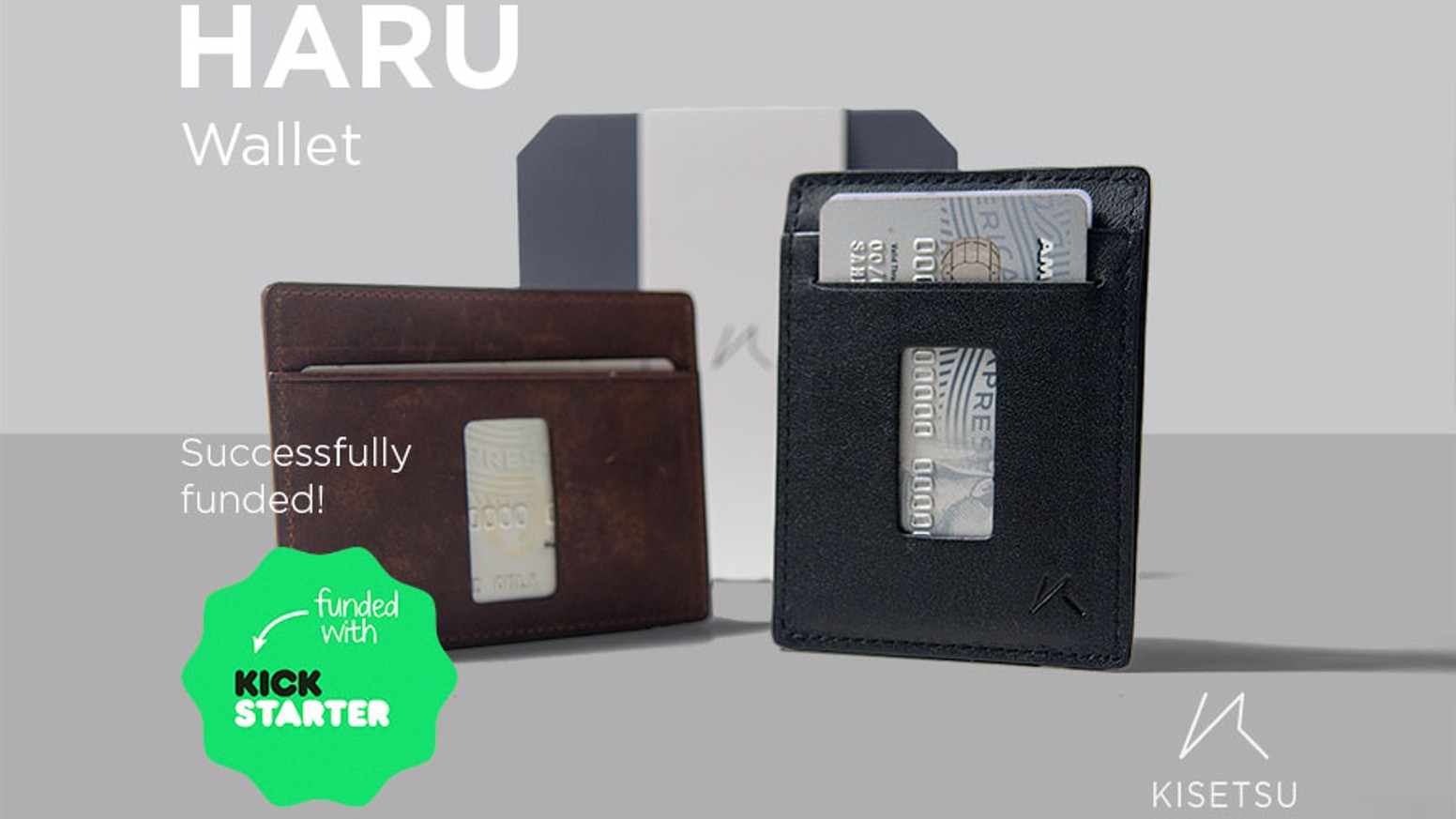Haru just got an upgrade. We've listened to your suggestions and applied them. Carrying and using your cards just became simpler.